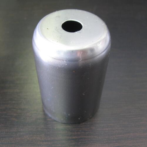 Bicchierino per portalampada E27 in ferro grezzo Ø40 mm foro 10mm