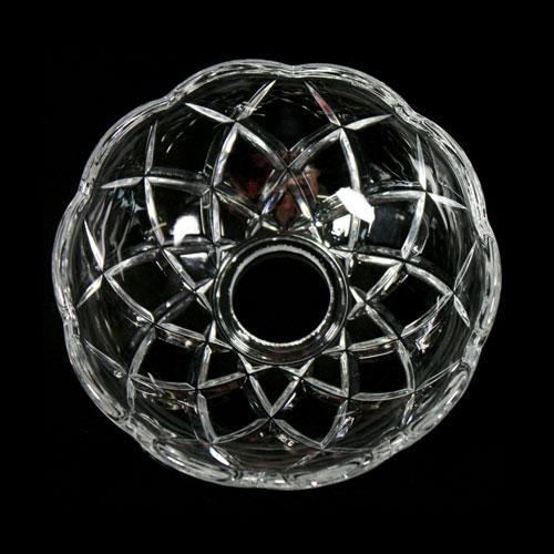Bobeche lampadari Vetro veneziano Ø 10 cm, foro Ø 24 mm, NO fori laterali.