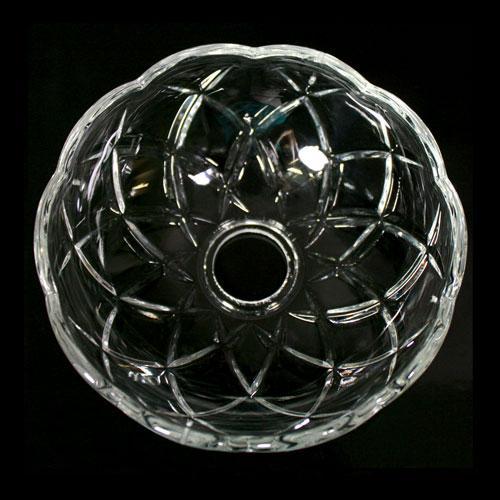 Bobeche lampadari Vetro veneziano Ø 12,5 cm, foro Ø 24 mm, con 4 fori laterali.