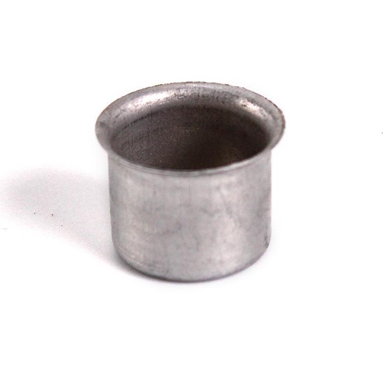 Bossola in alluminio #6. Misure Ø22,5 per ingessatura lampadari vetro Murano