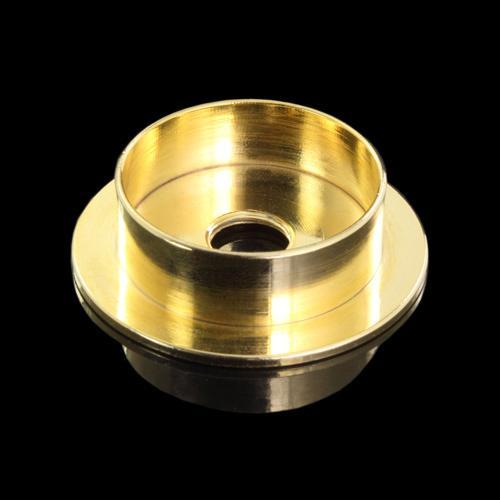 Centra tazza in ottone tornito finitura oro Ø40 x h11 imposta 30 mm + F10x1