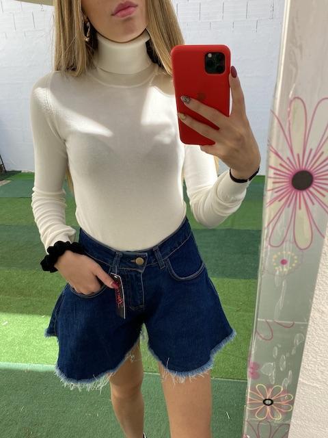 Shorts In Jeans Taglia L