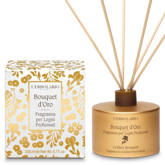 Fragranza per Legni Profumati Bouquet d'Oro L'Erbolario