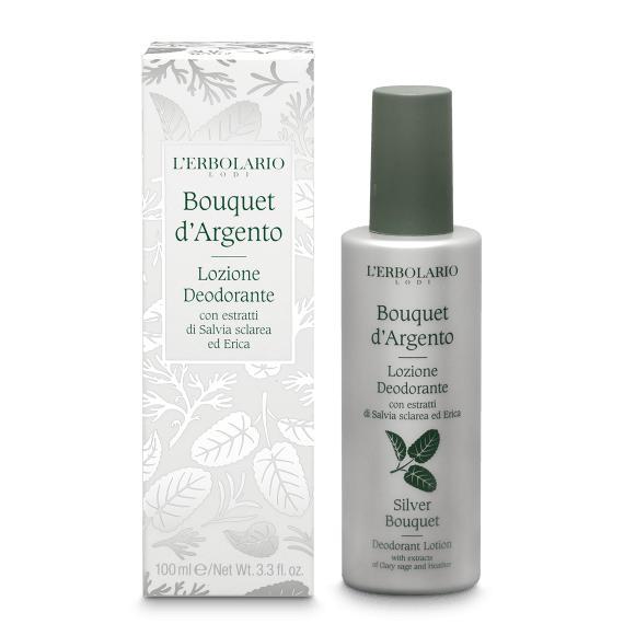 Lozione Deodorante Bouquet d'Argento L'Erbolario