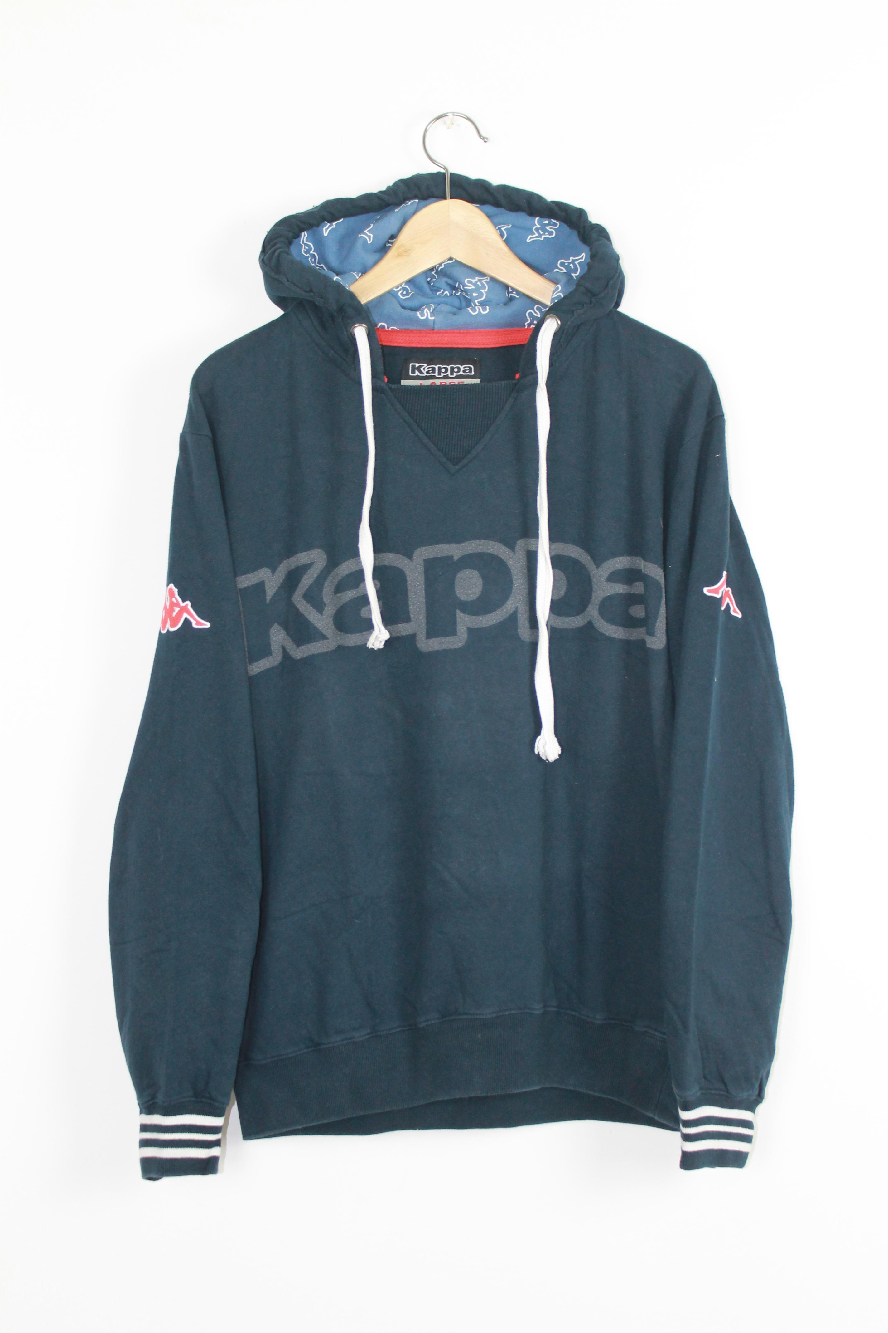 Kappa - Felpa cappuccio