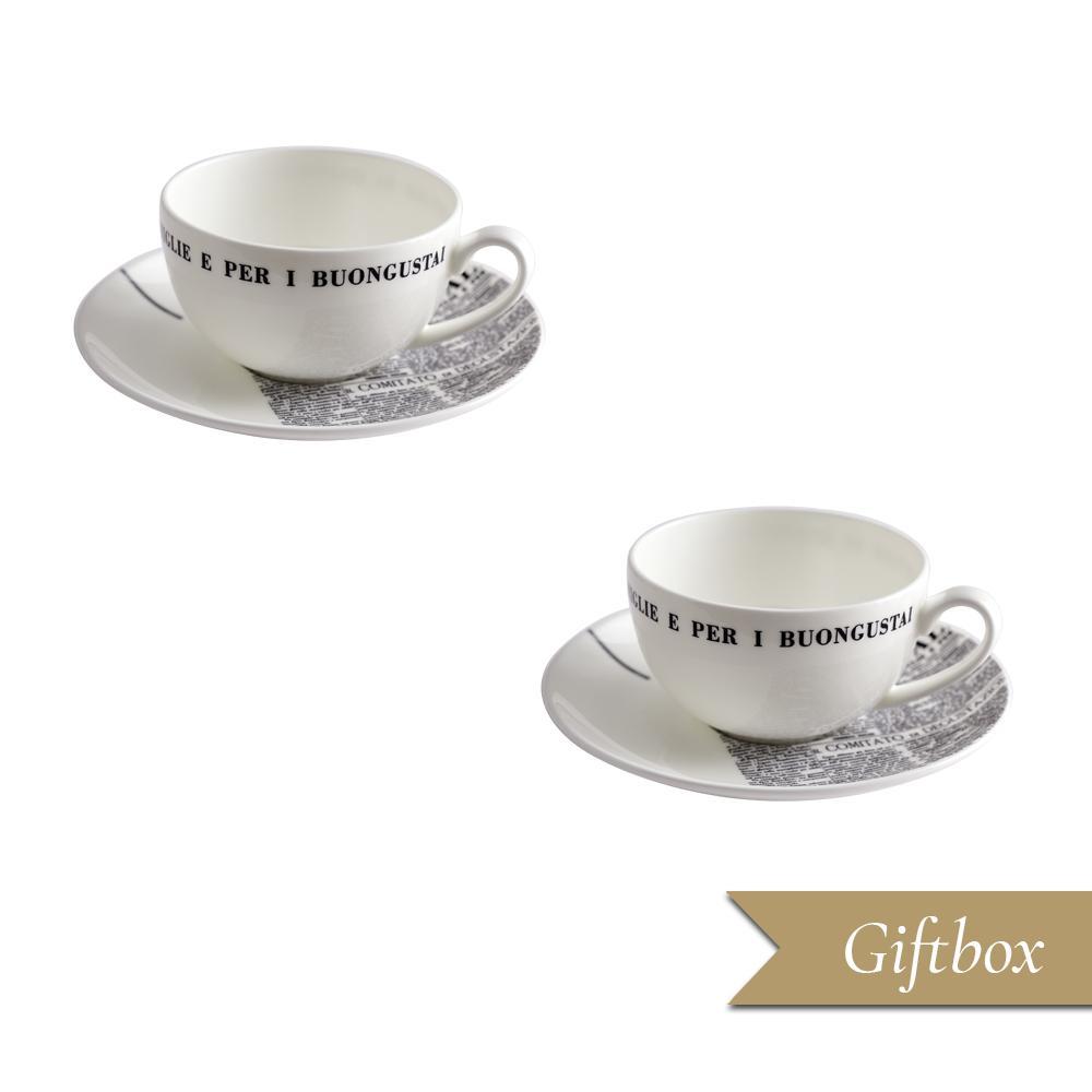 Set tè 4 pezzi in Giftbox GCV | Geometric | La Cucina Italiana