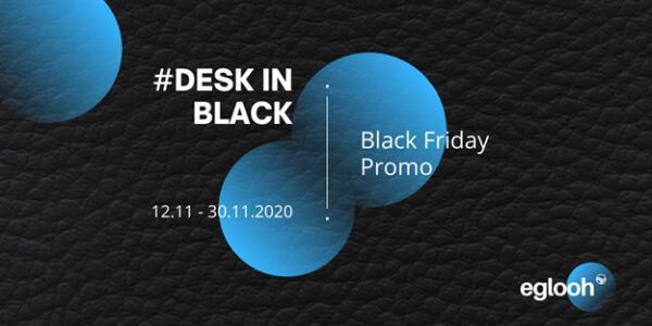 Desk In Black