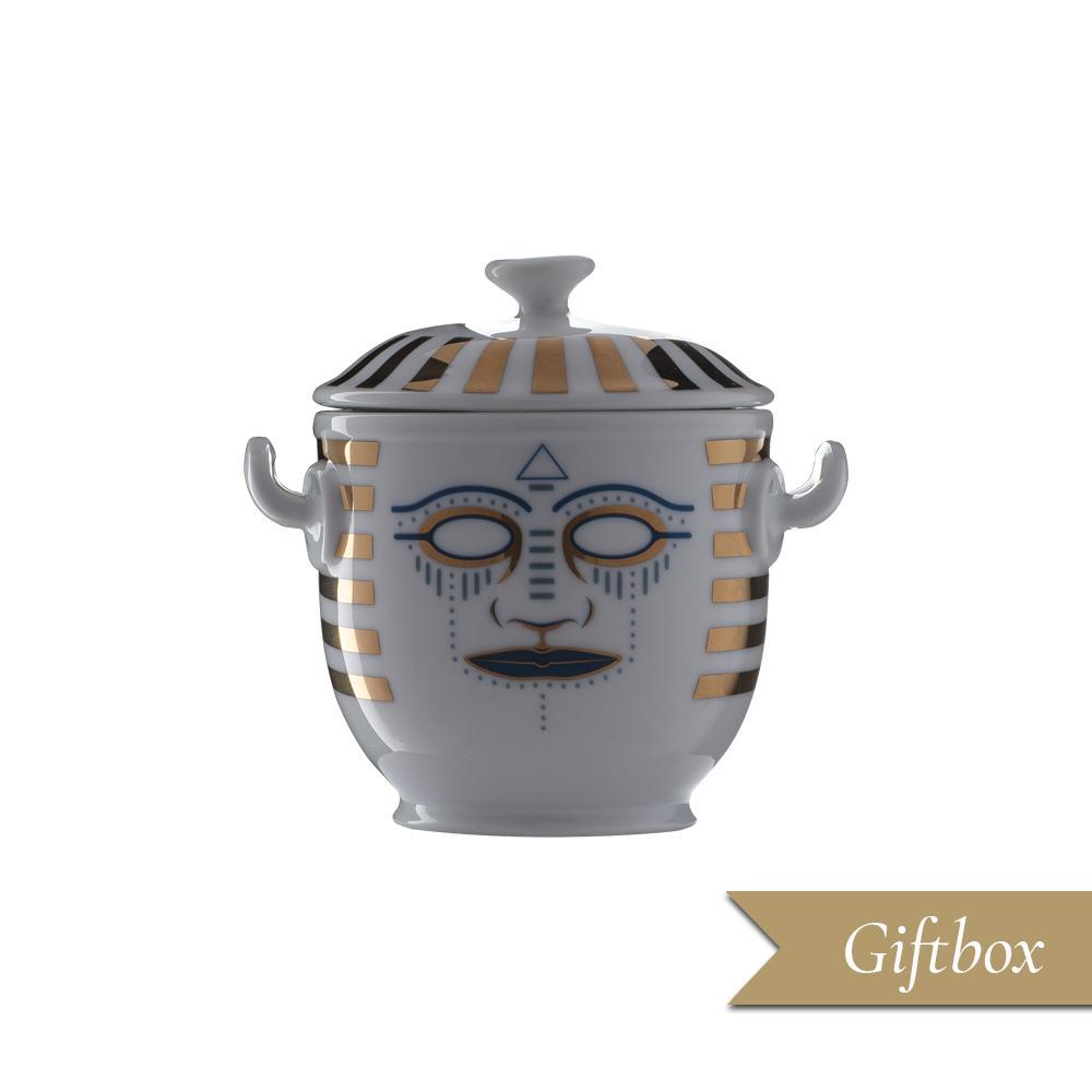 Piccolo vaso in Giftbox | Pi-Atum | Ethnics | Edizione Limitata e Numerata