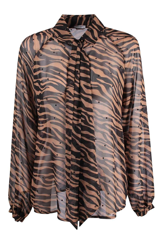 Camicia Donna Liu Jo Marrone