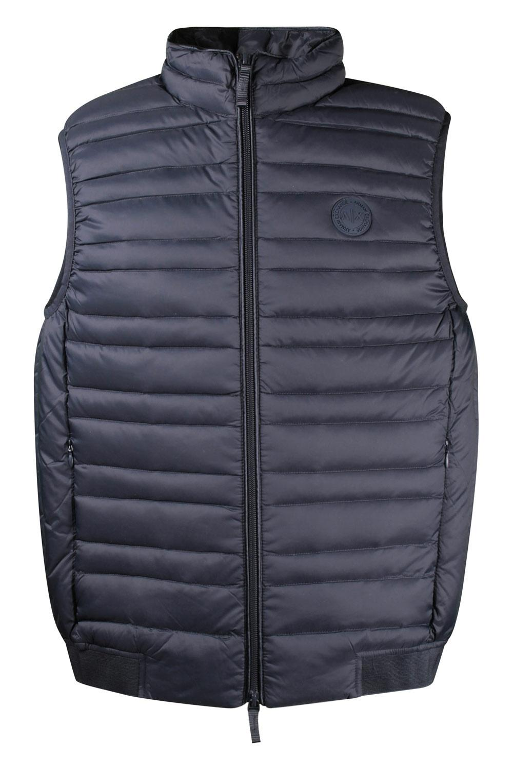 Gilet Uomo Armani Exchange Blue
