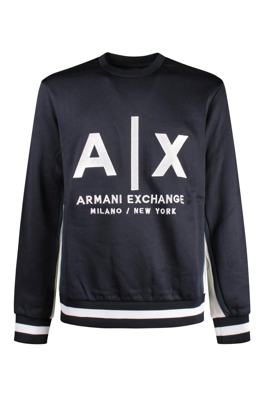 Felpa Uomo Armani Exchange Blue