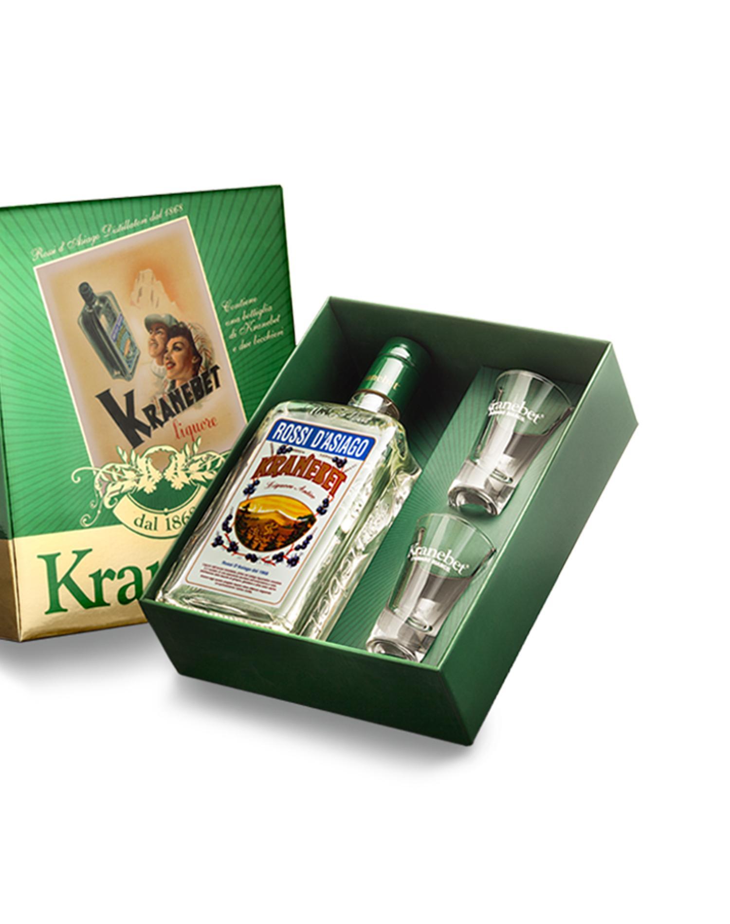 Kranebet Gift con 2 bicchieri