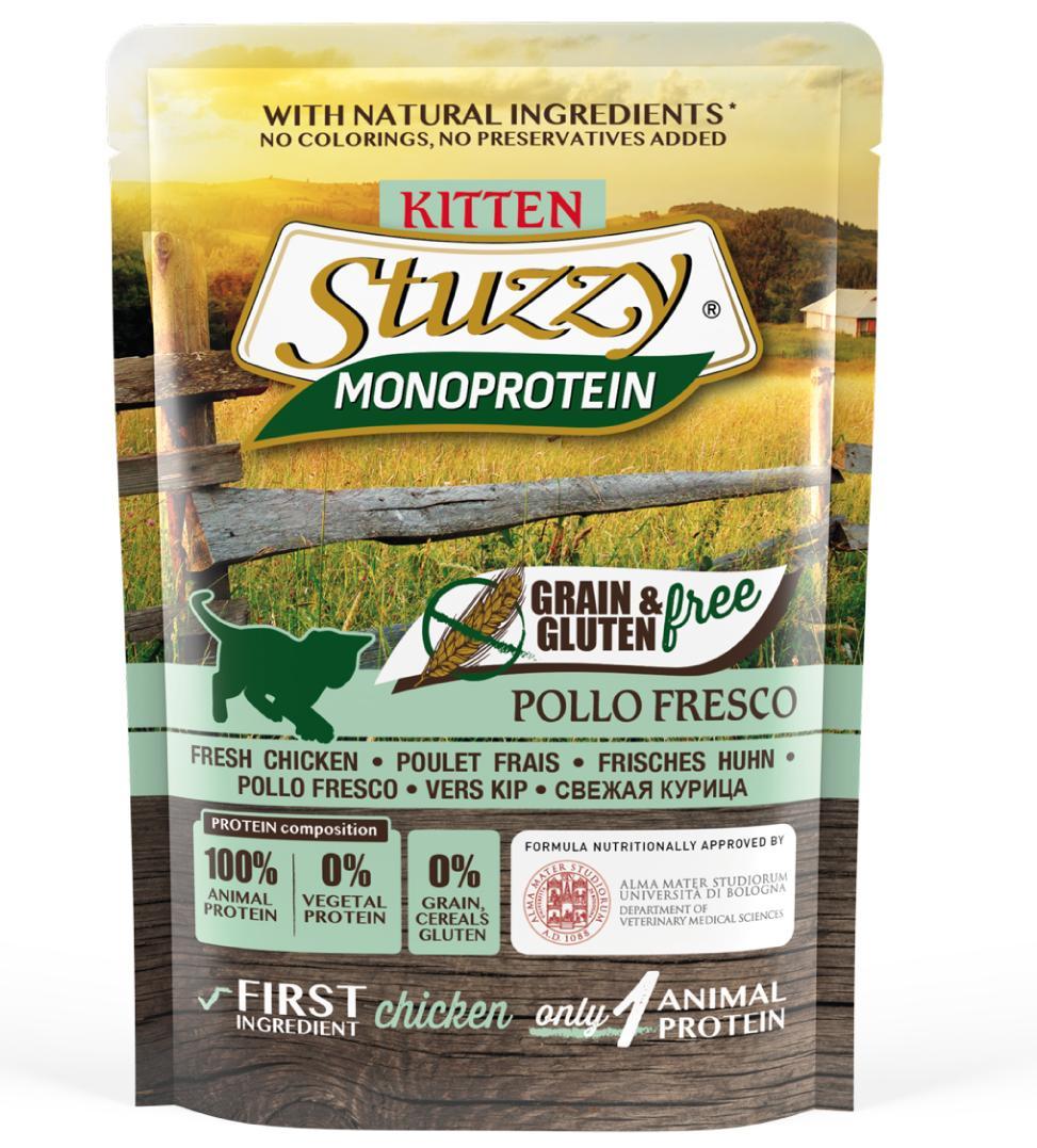 Stuzzy Cat - Monoprotein - 16 buste x 85g