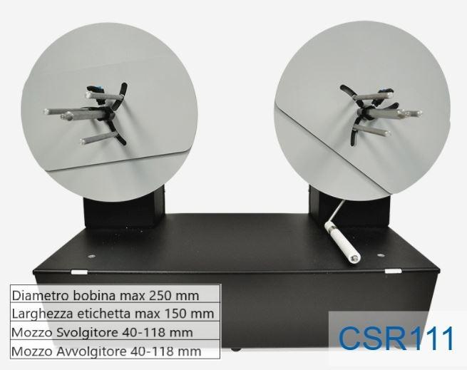 Piccolo ribobinatore - Modello CSR111