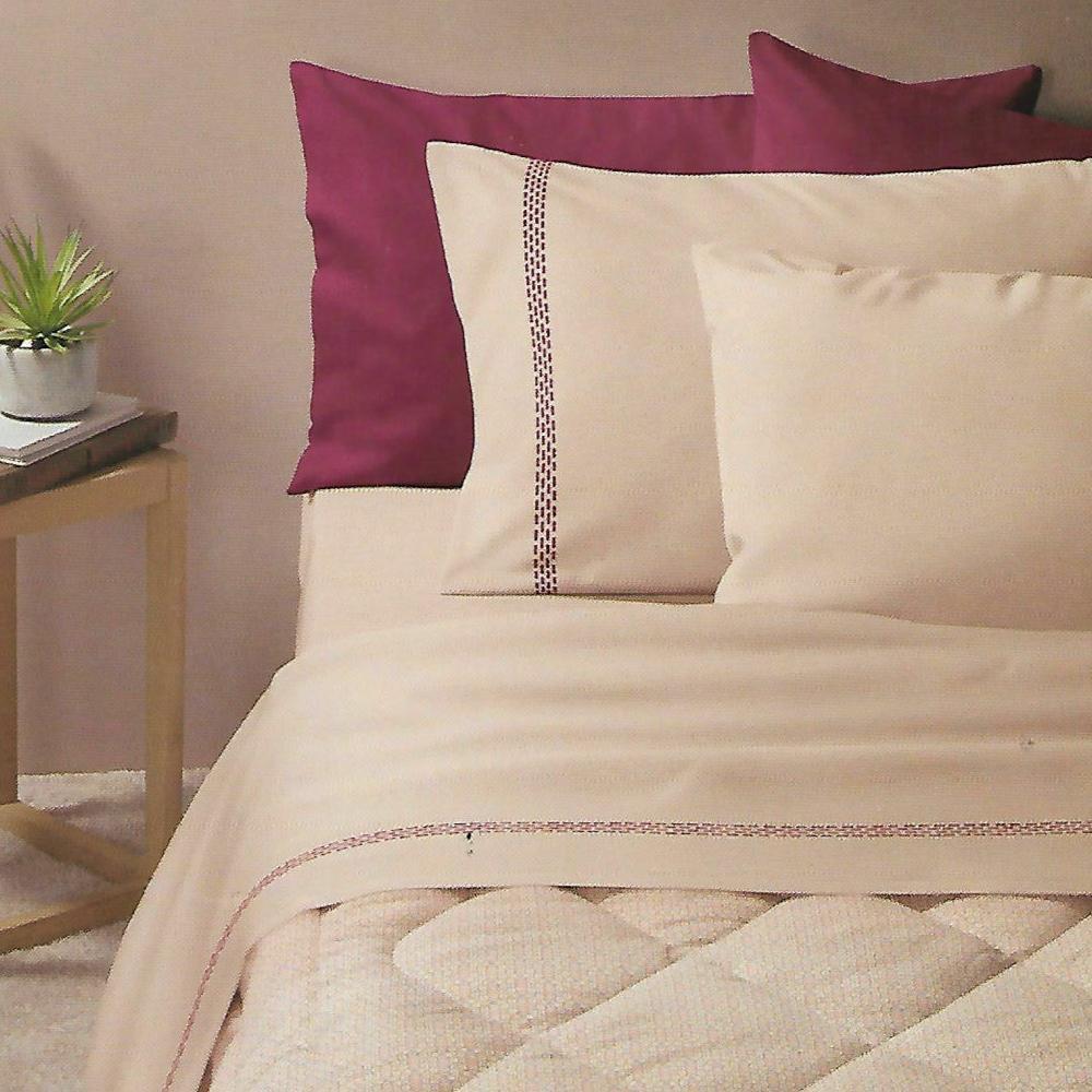 Double Bed Sheets Warm Cotton Zucchi Winter Debbi Beige