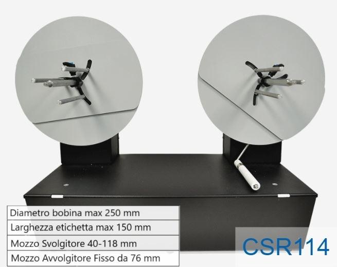 Piccolo ribobinatore - Modello CSR114
