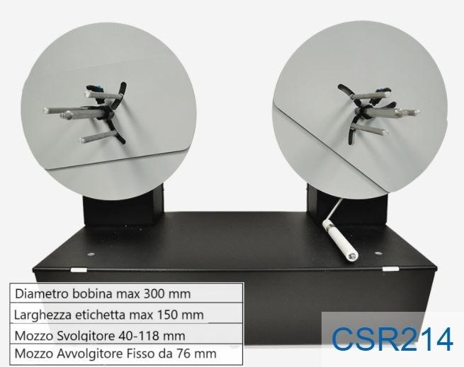 Piccolo ribobinatore - Modello CSR214