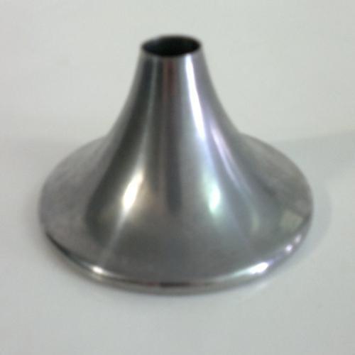 Centratubo a cono ferro grezzo Ø87 x h52 mm con foro centrale Ø17mm