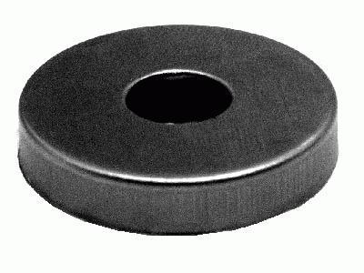 Centratubo grezzo a dischetto Ø 25 mm con foro Ø 10 mm
