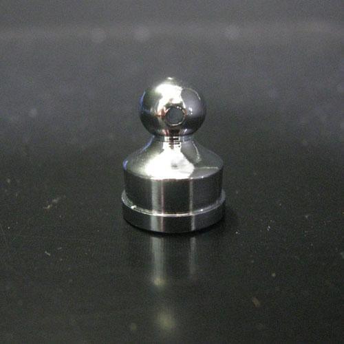 Finale ottone grezzo 14x18 - M10x1 con foro laterale 1.5 mm