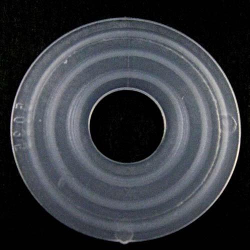 Guarnizione rondella gommino Ø40 mm foro interno 13 mm PVC colore neutro