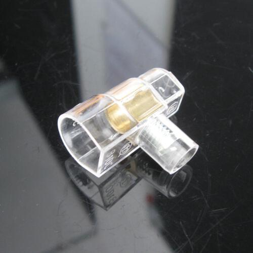 Morsetto elettrico isolato con serraggio a vite, sezione 10 mmq