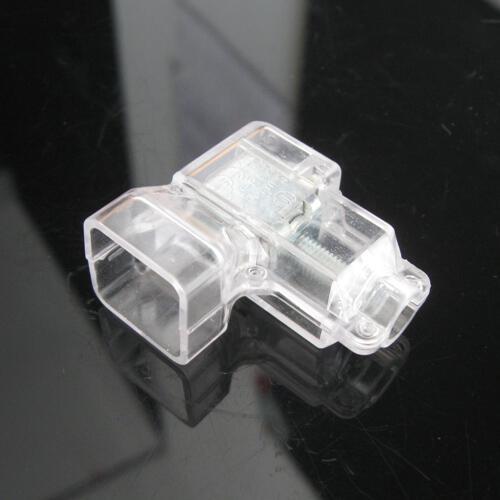 Morsetto elettrico isolato con serraggio indiretto a vite, sezione 16 mmq