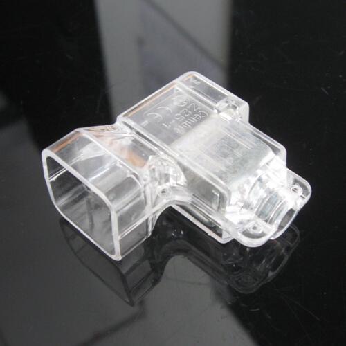 Morsetto elettrico isolato con serraggio indiretto a vite, sezione 25 mmq