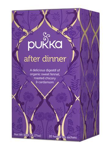 TISANA PUKKA AFTER DINNER