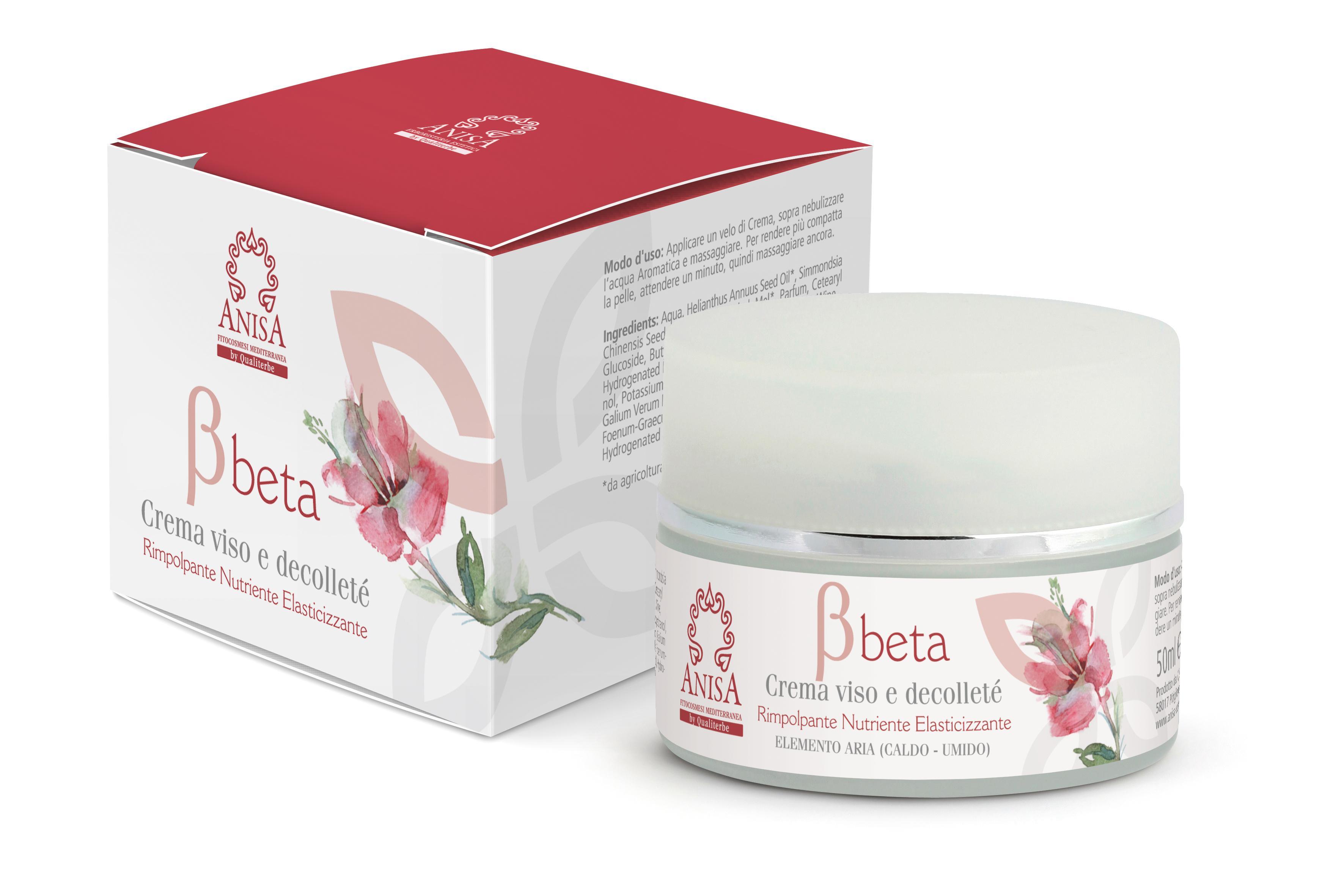 Crema Beta 50ml Viso e Decolletè Superior Texture Linea Professionale ANISA by Qualiterbe
