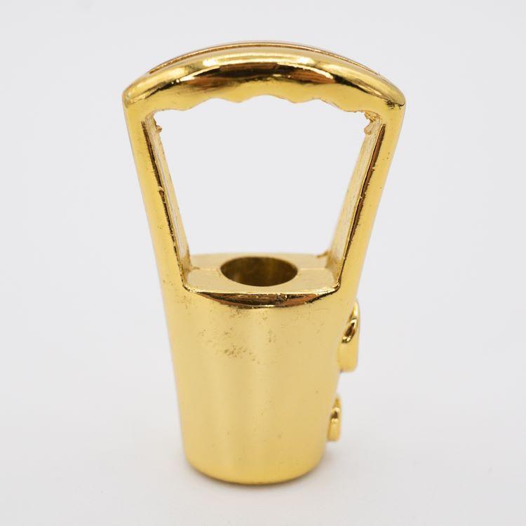 Gancio bilanciatore dorato per cavo acciaio attacco M10x1 per lampadari
