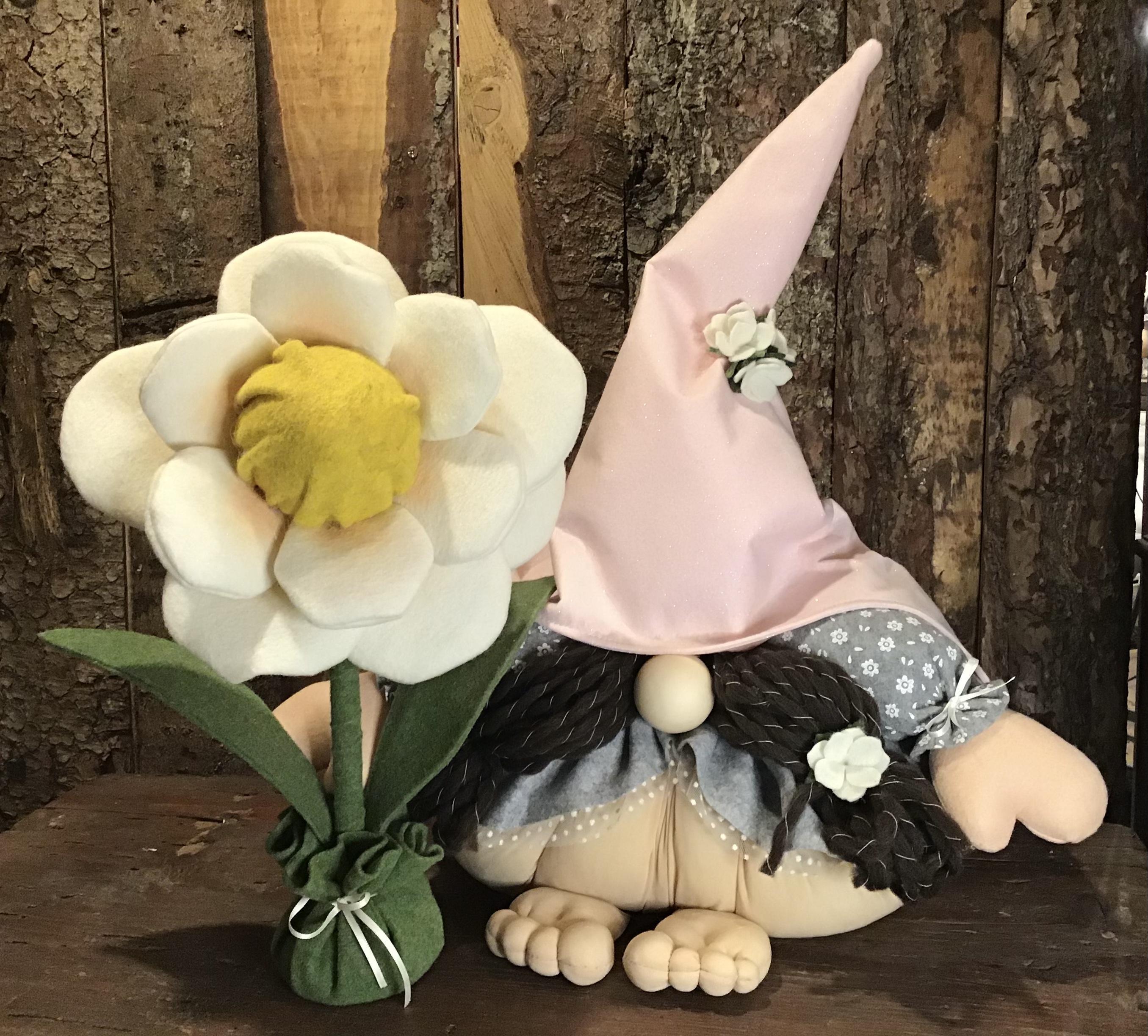 Kit Gnoma Monella  con fiore