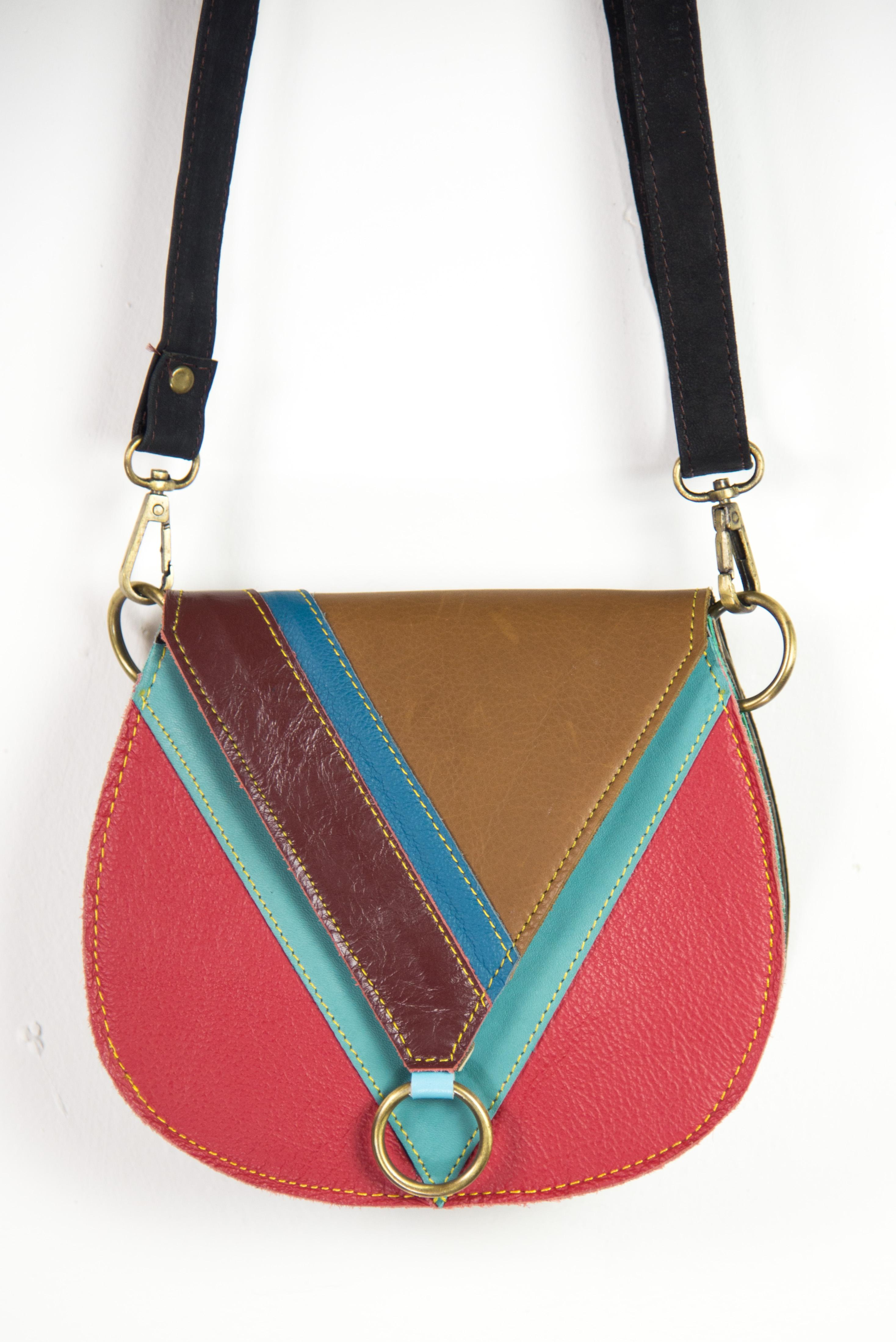 Ethnic Indian leather bag | Online handicraft bags
