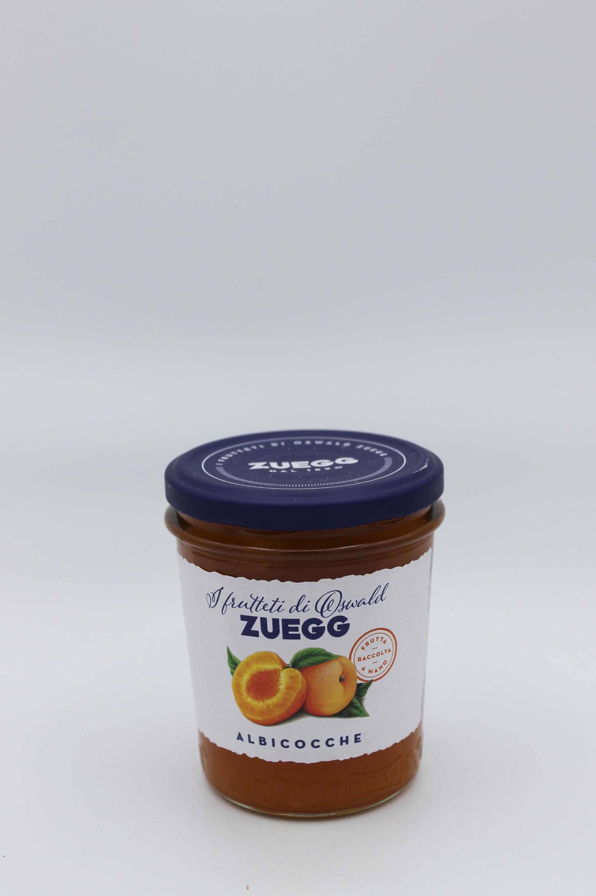 Zuegg confetture 320 gr vari gusti.