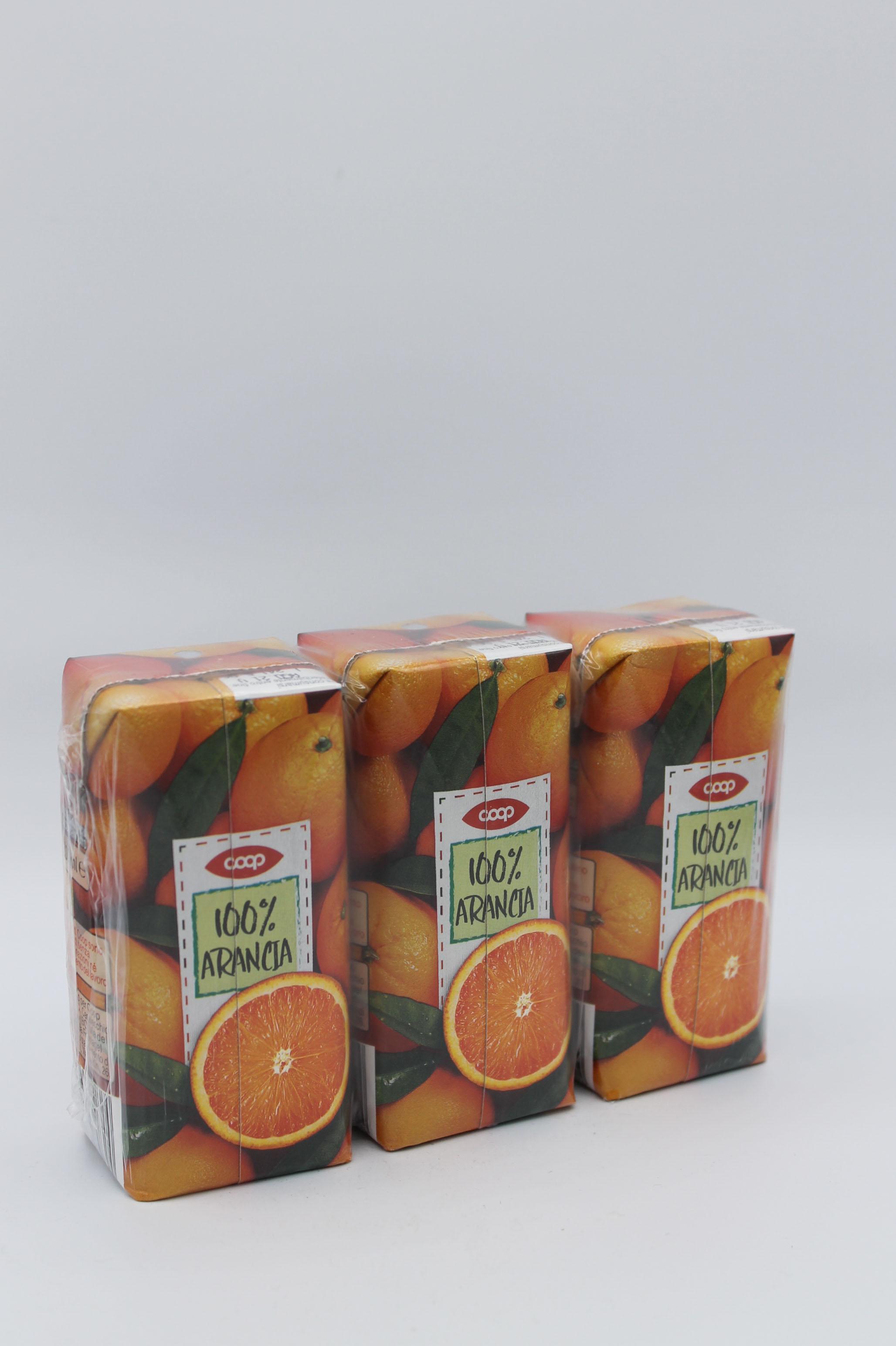 Coop succhi cluster 3x200 100% frutta ml vari gusti