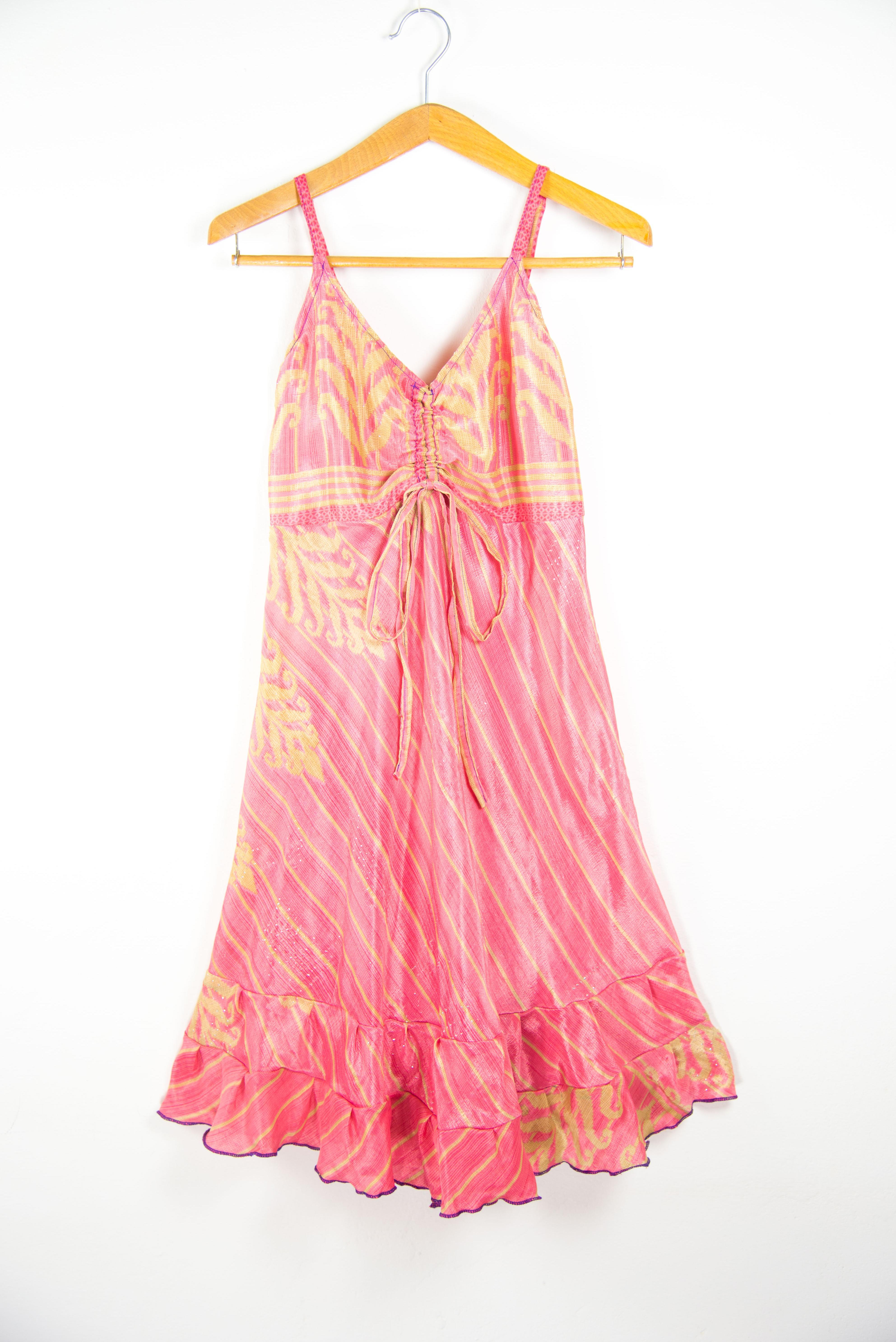Summer Sleeveless Adjustable Strap dress | Summer clothing online