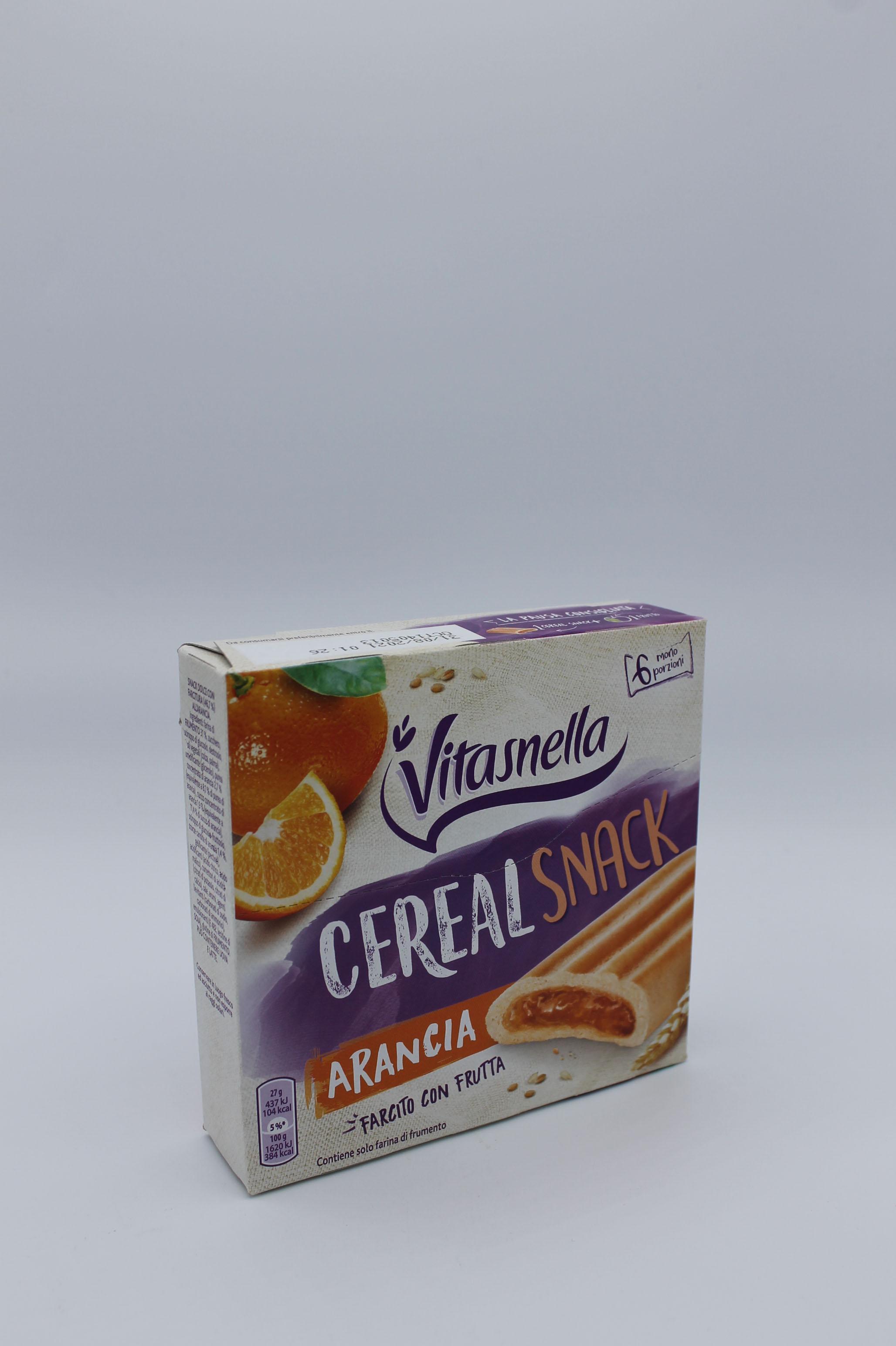 Vitasnella cereal snack 162 gr vari gusti.