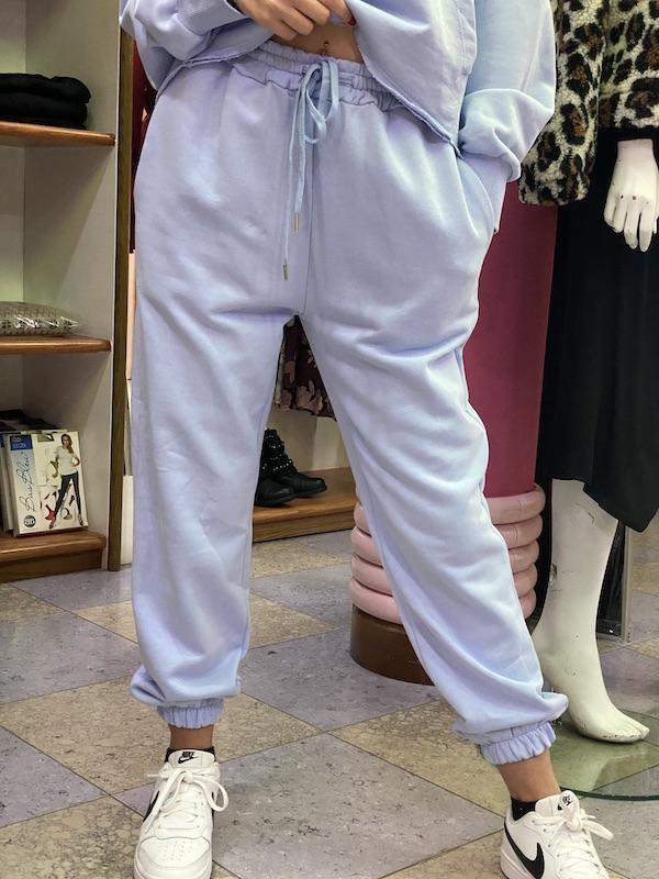 Pantaloni Lumina in felpa