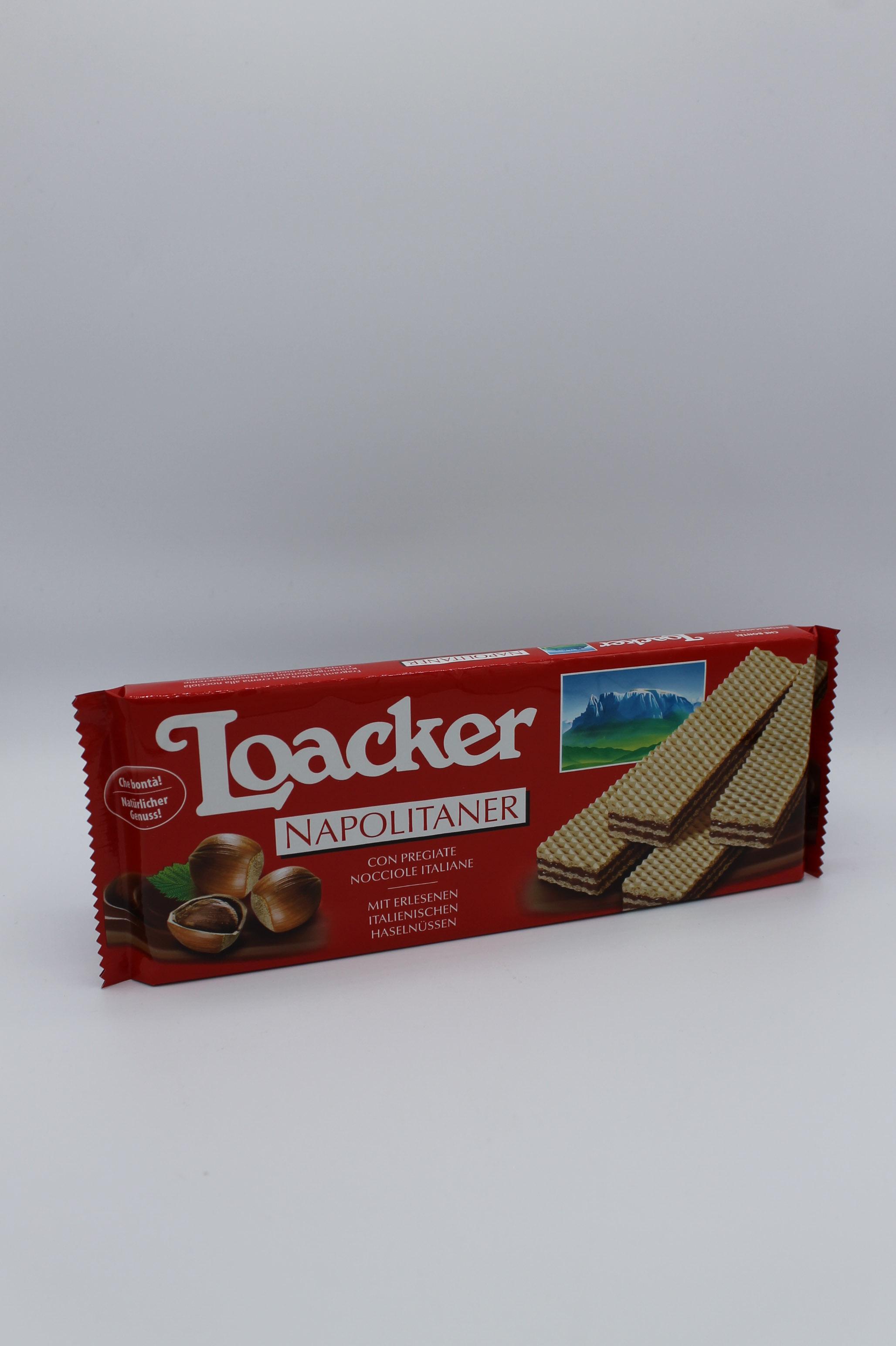 Loacker wafers 175 gr vari gusti.