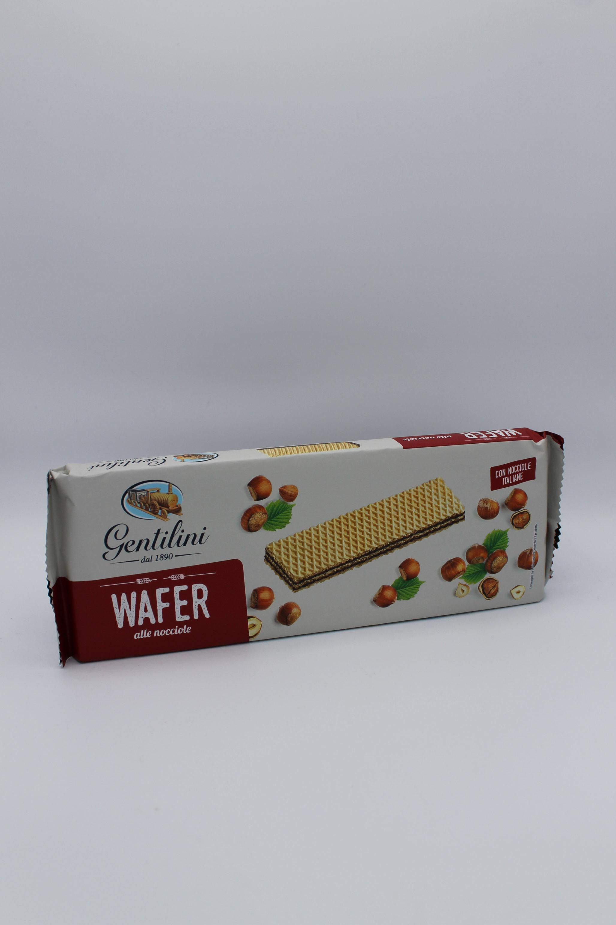Gentilini wafer 175 gr vari gusti.