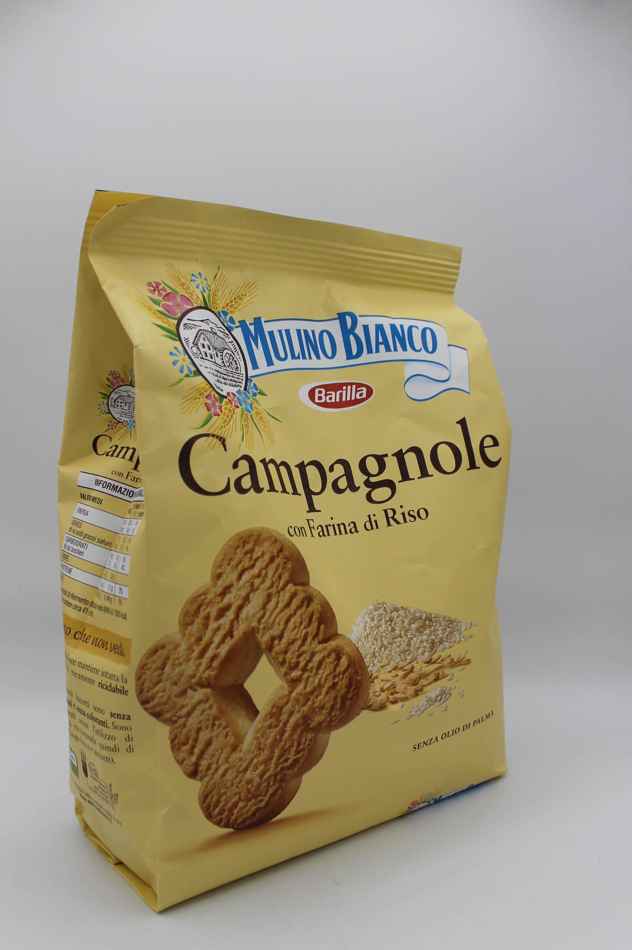 Barilla biscotti 700 gr vari gusti.