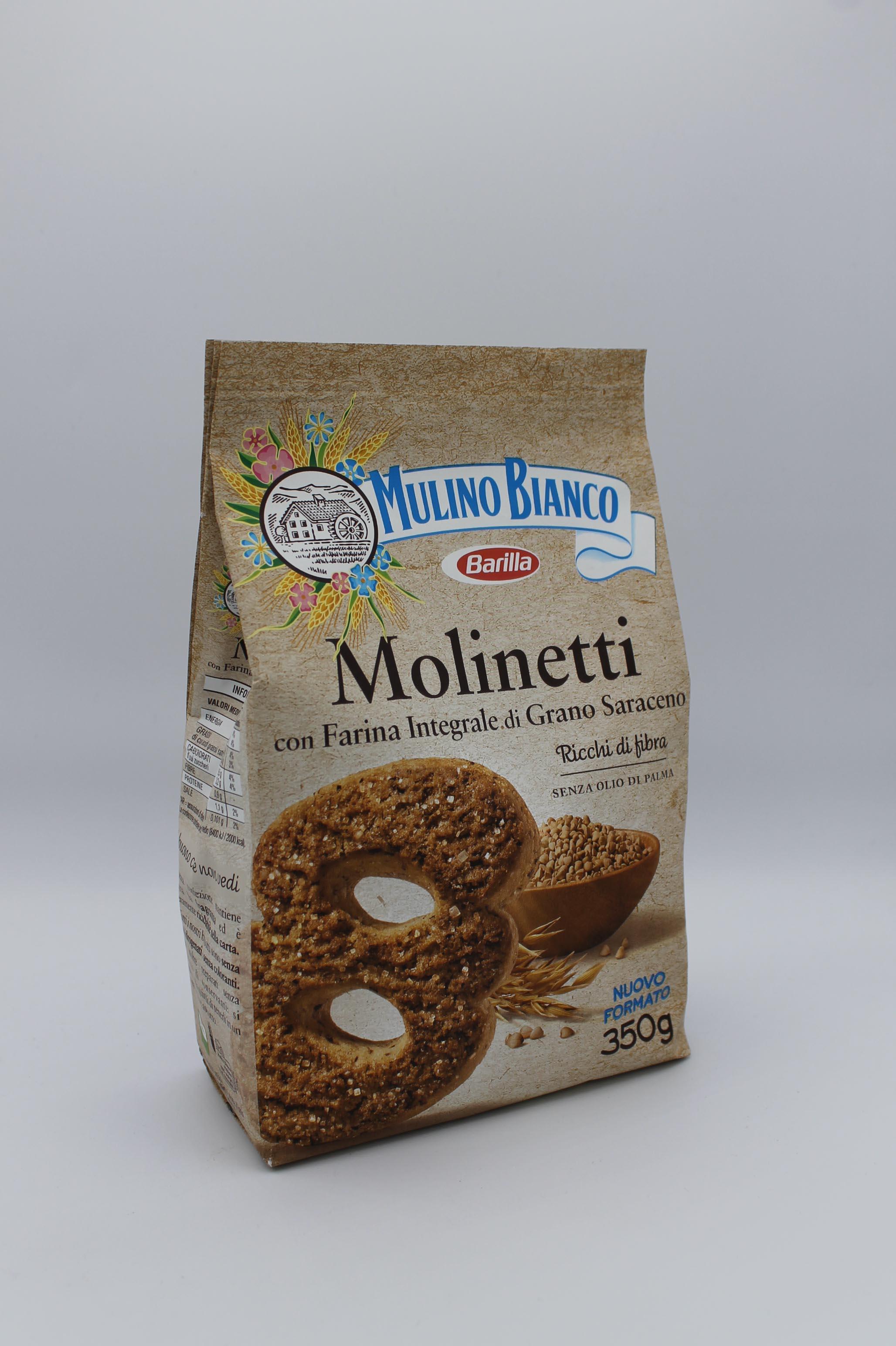 Barilla biscotti integrali 350 gr vari gusti.