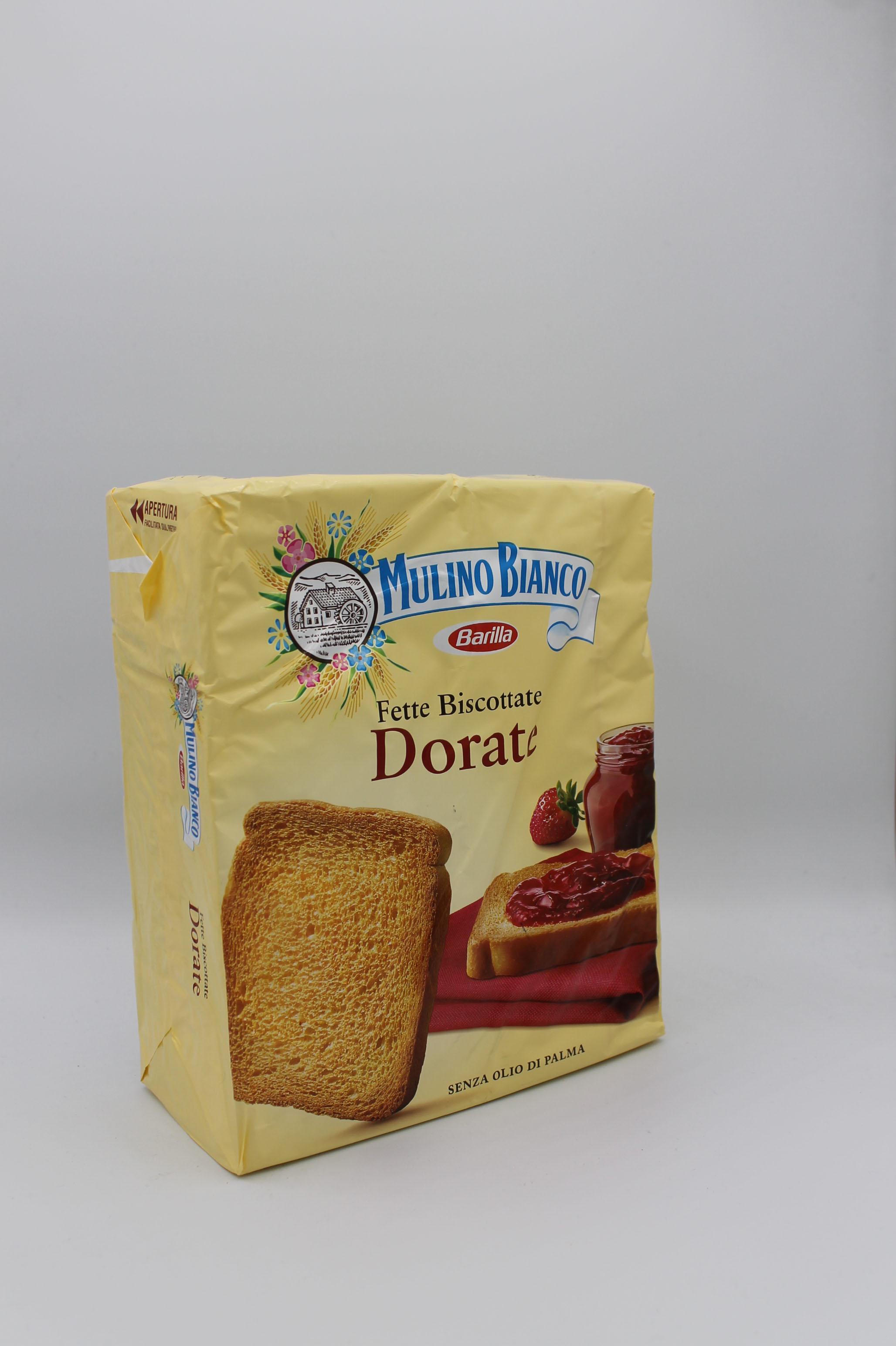 Mulino bianco fette biscottate 315 gr vari gusti.