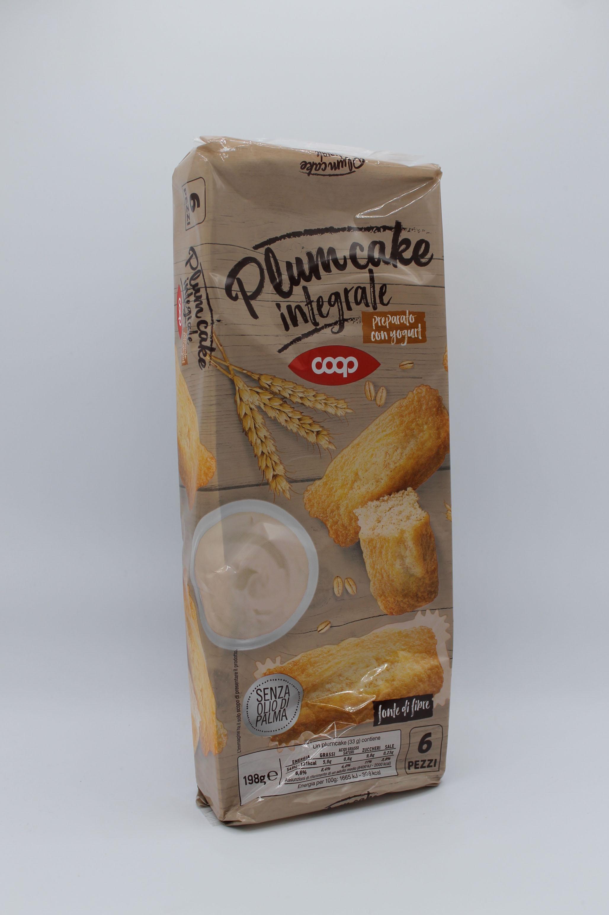 Coop plumcake 198 gr vari gusti.