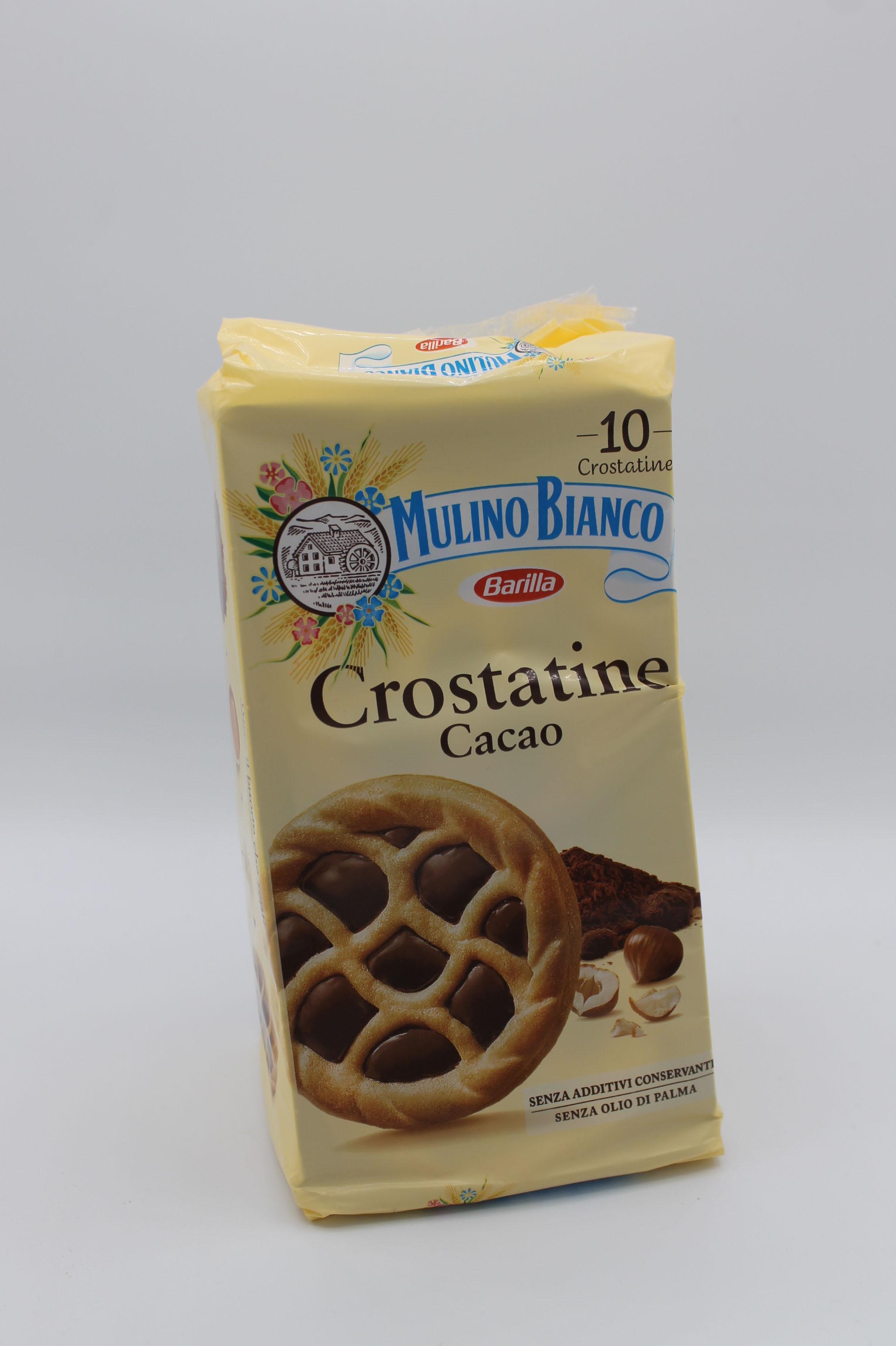 Mulino bianco crostatine barilla 400 gr vari gusti.