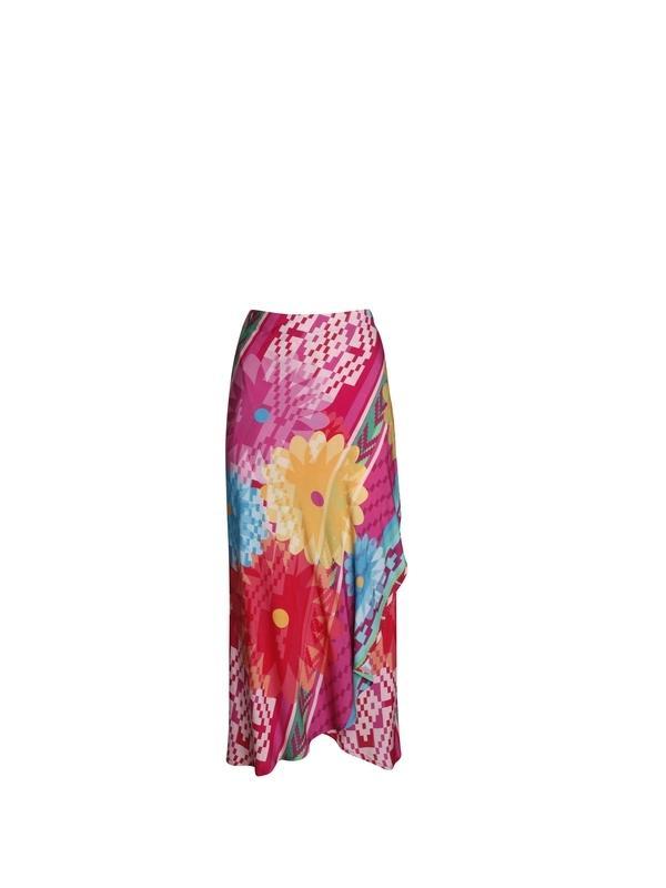 Long cotton skirt | Women's summer clothing online