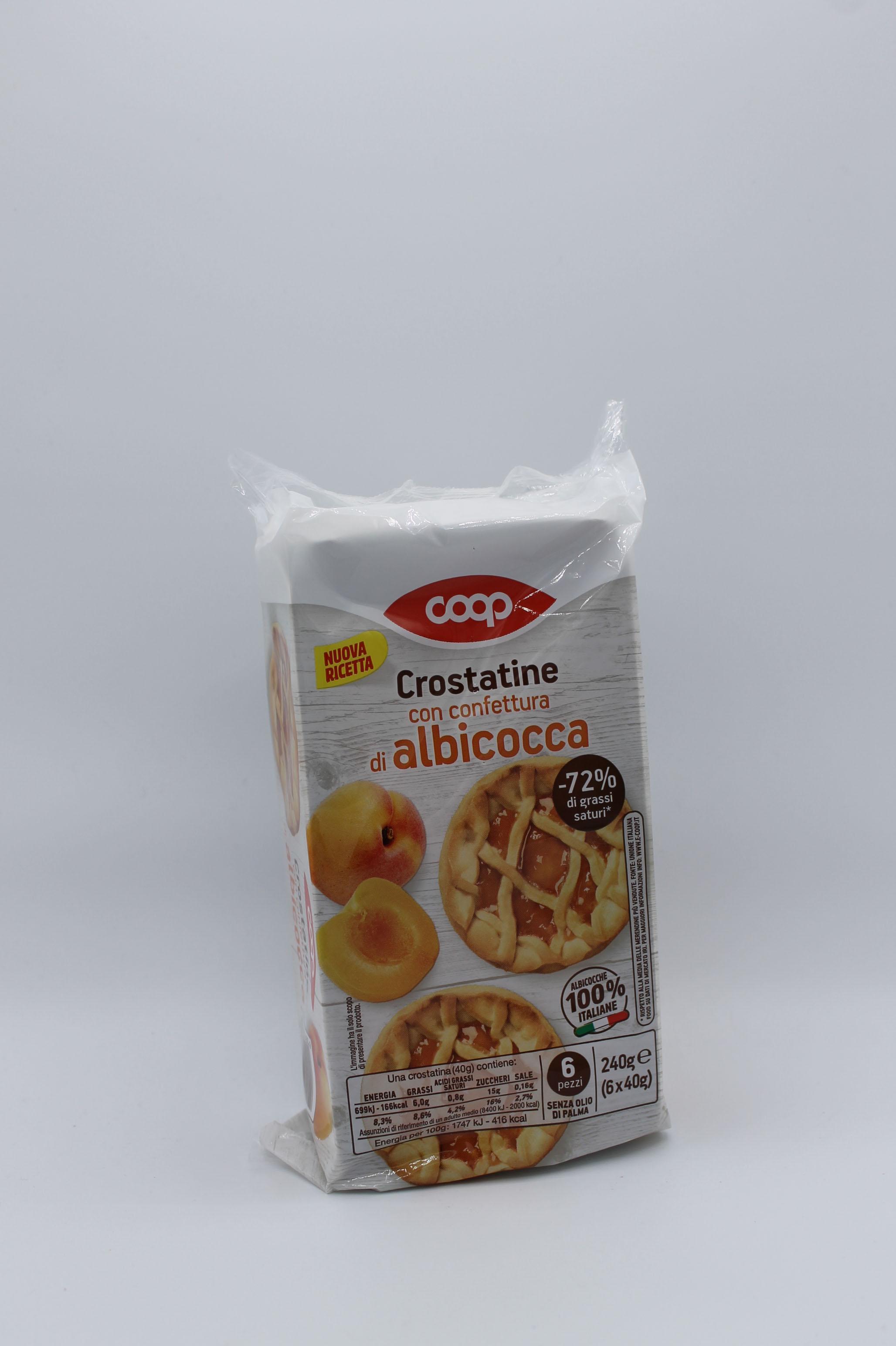 Coop crostatine 6pz 240gr vari gusti.