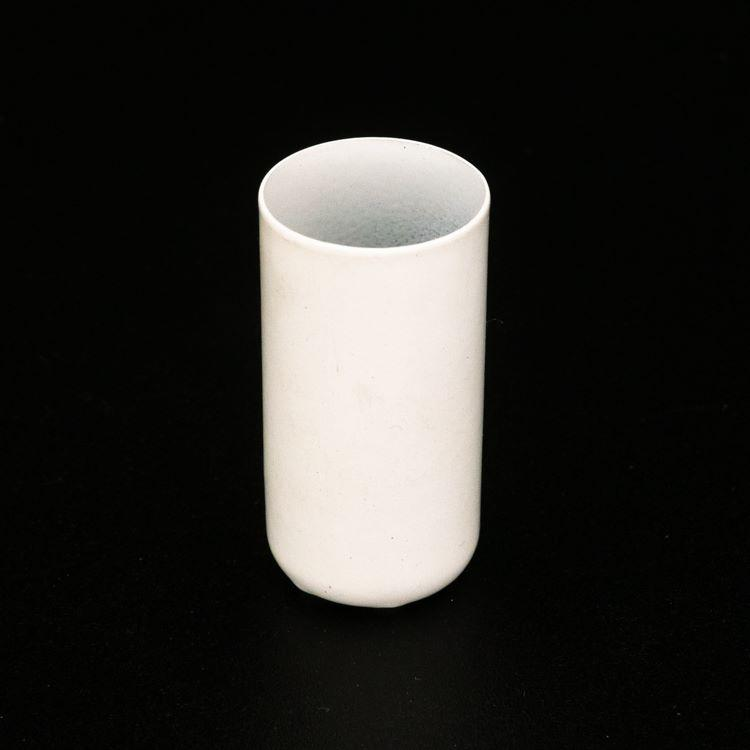 Bicchierino metallico G9 Ø21 x h40 finitura bianco