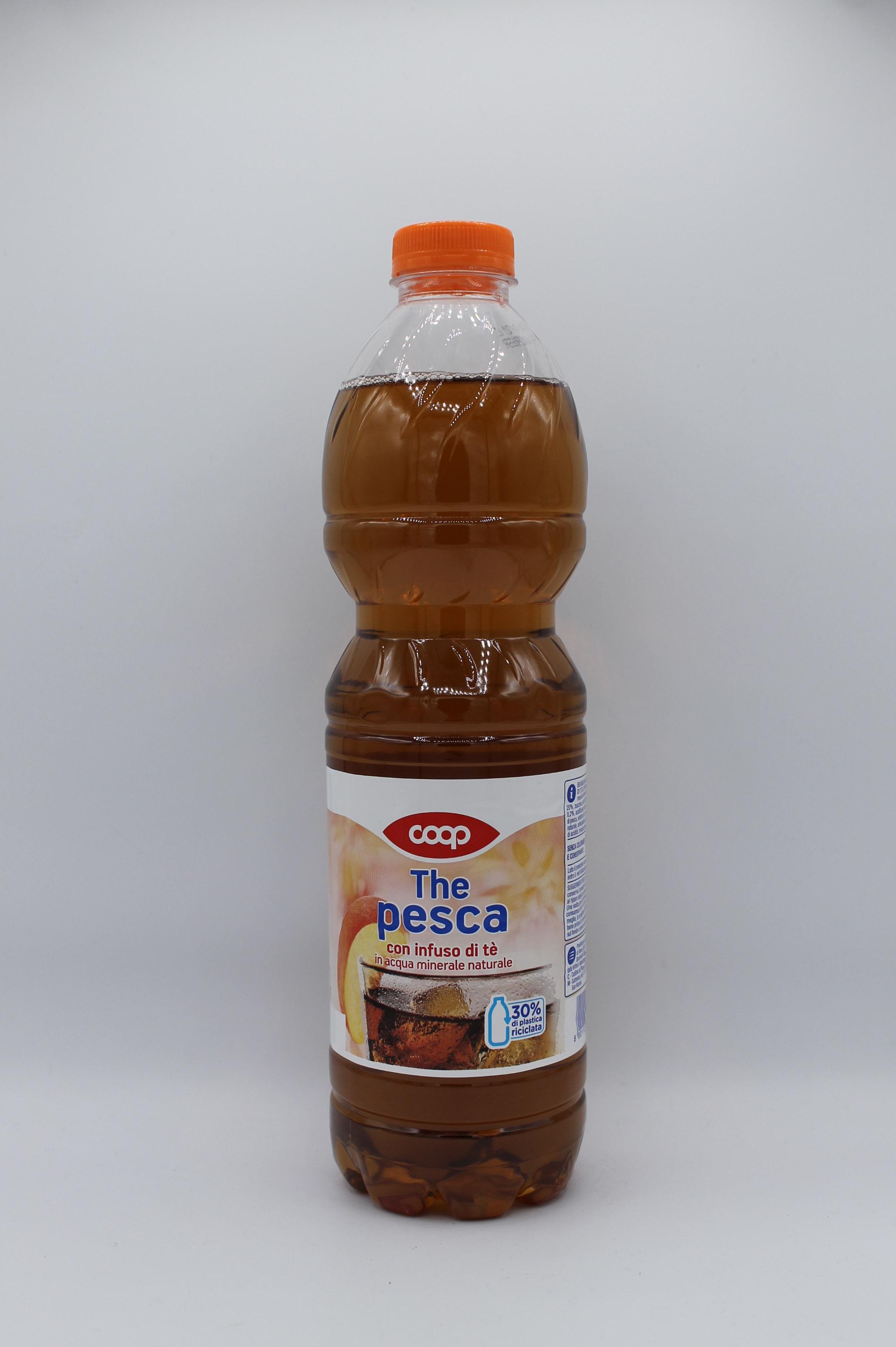 Coop thè bottiglia 1,5lt vari gusti.