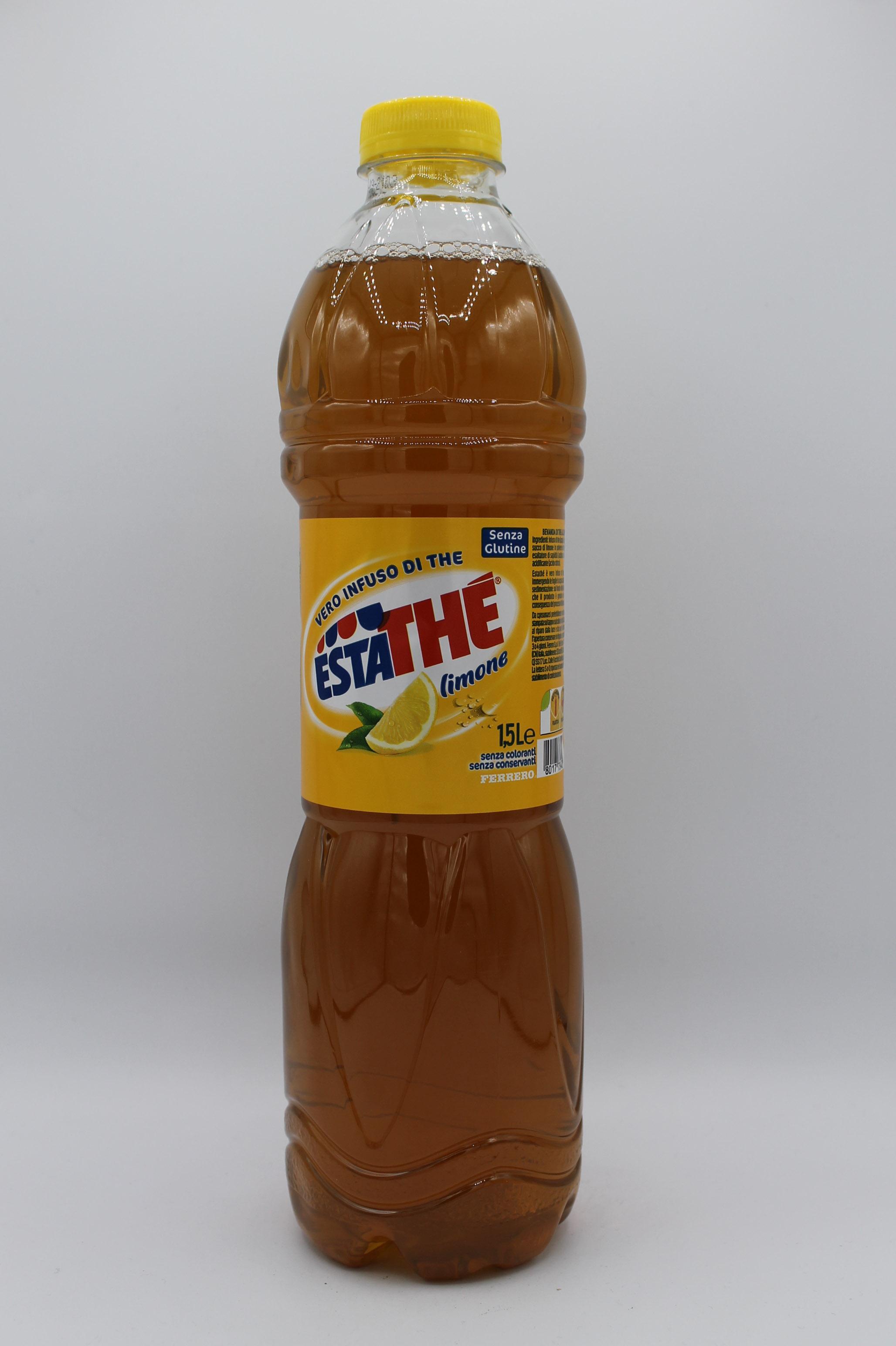 Estathè bottiglia 1,5lt vari gusti.